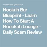 Hookah bar blueprint learn how to start a hoookah lounge free tutorials