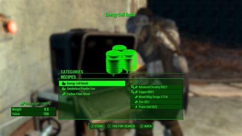 Horizon Fallout 4 Mod How To Make Ammo