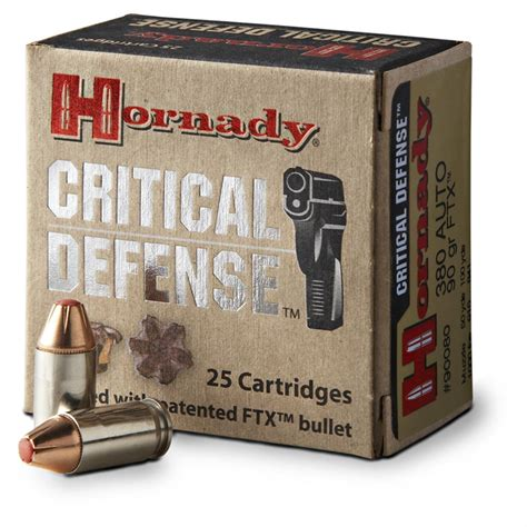 Hornaday Critical Defence Ammo Reviews