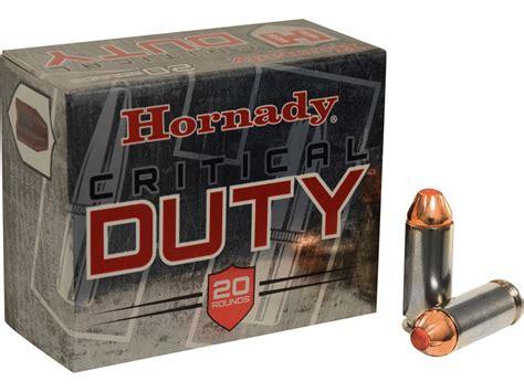 Hornady 10mm Ballistics