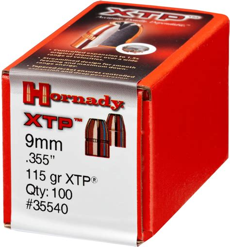 Hornady 115 Gr 9mm Xtp Heads