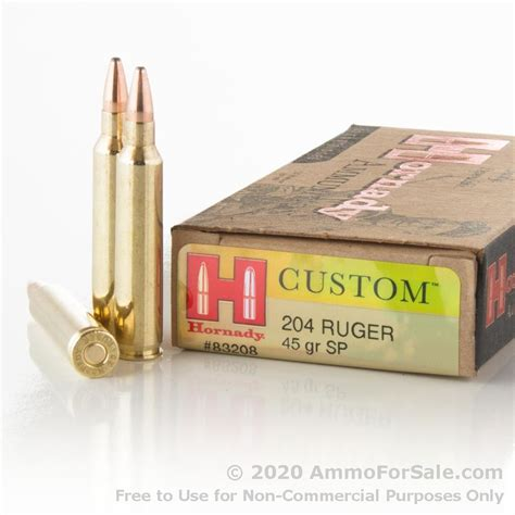 Hornady 204 Ruger Ammo As Cheap As 77 Per Round