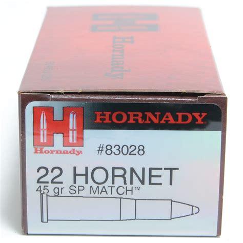Hornady 22 Hornet Match Ammo
