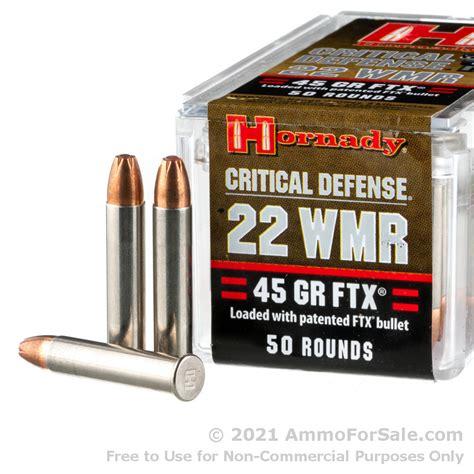 Hornady 22 Mag Ammo For Sale