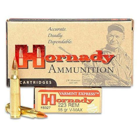 Hornady 223 55gr Vmax Varmint Express Ammunition 20rds 8327 And Wood Plus Prefinished Replacement Shotgun Forends Az