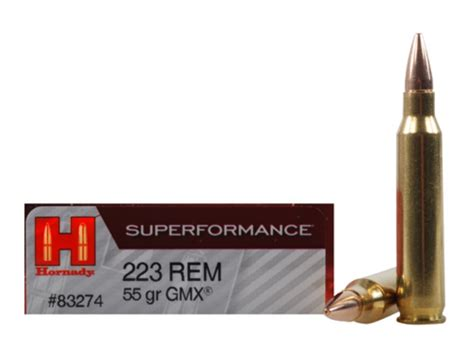 Hornady 223 Gmx Ammo Review