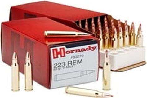 Hornady 223 Remington 55gr V-MAX Review Big Game