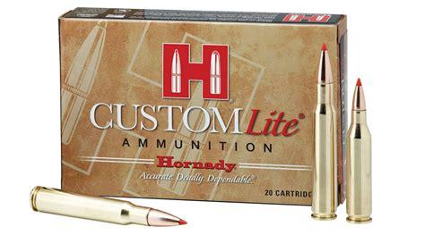 Hornady 270 Win 120 Gr Sst Custom Lite