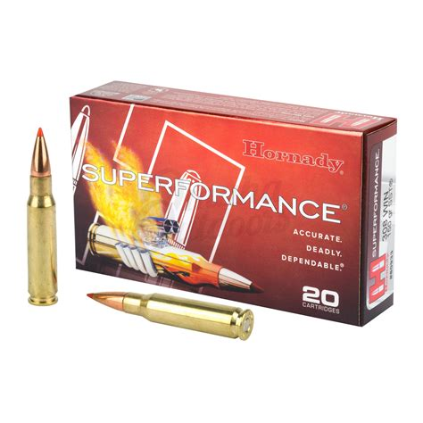 Hornady 308 Superformance Ammo For Sale