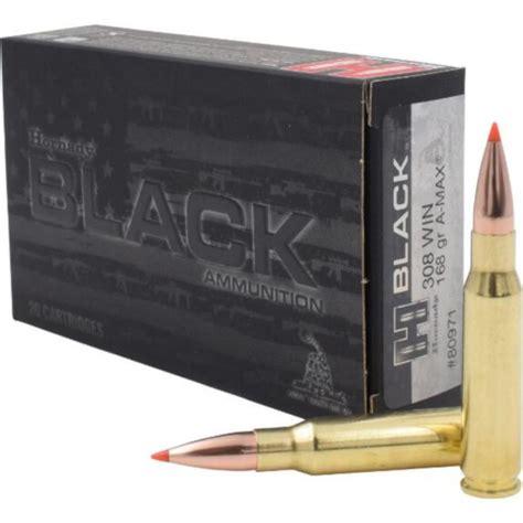 Hornady 308 Winchester 168gr A-MAX Superformance Match