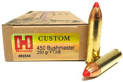 Hornady 450 Bushmaster Ammo