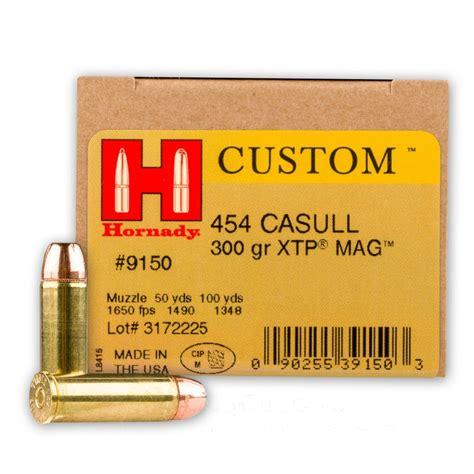 Hornady 454 Casull Ammunition 20 Rounds XTP JHP 300