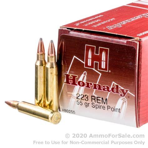 Hornady 55gr Sp Ballistics