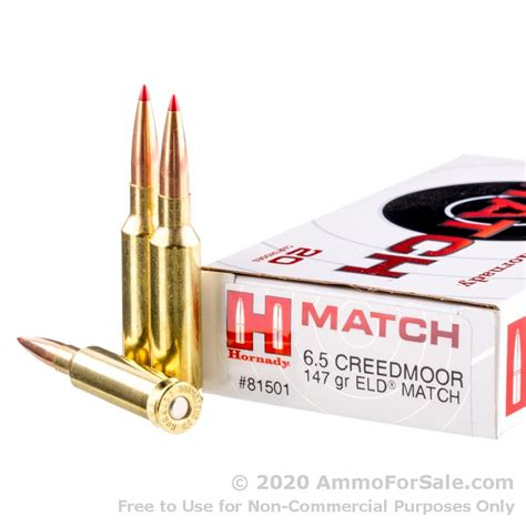 Hornady 6 5 Creedmoor Eld Match And Lower Assembly Ar 15 For Sale