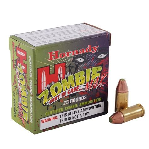 Hornady 90262 Z-MAX AMMO 9MM LUGER 115GR Z-MAX