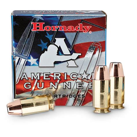Hornady American Gunner 9mm P XTP-HP 124 Grain 25