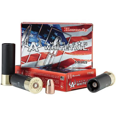 Hornady American Whitetail Sabot Slug Ballistics