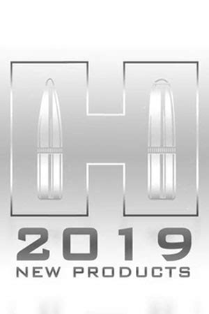 Hornady Announces New Products For 2019 Hornady