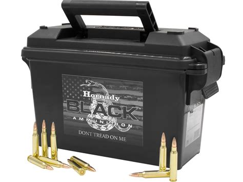 Hornady Black Ammo 223 Review