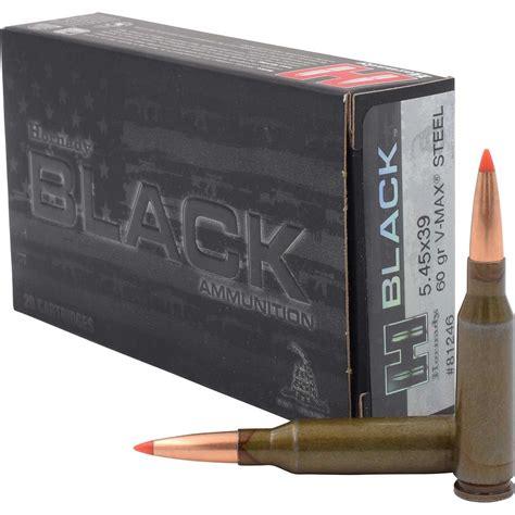 Hornady Black Ammo 5 45x39mm 60gr Vmax Steel Brownells