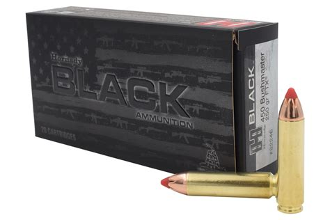 Hornady Black Vs Custom 450