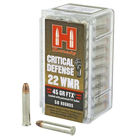 Hornady Critical 45gr Ftx
