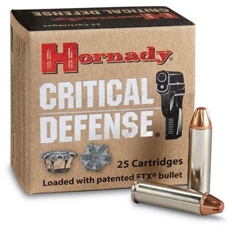 Hornady Critical Defense 32 H R Magnum Ftx 80 Grain