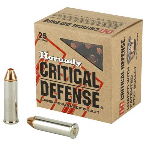 Hornady Critical Defense 357 Sig Ballistics