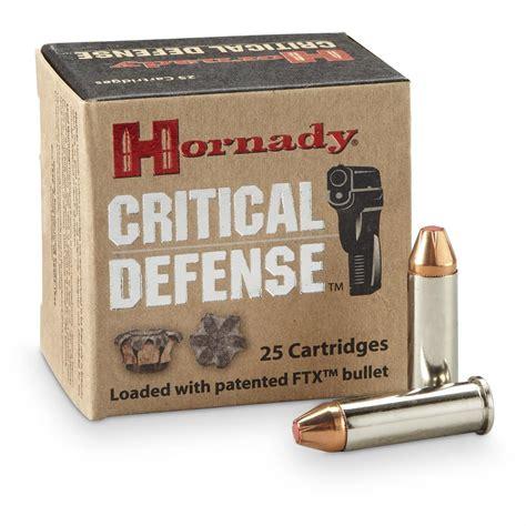 Hornady Critical Defense 38 Plus P