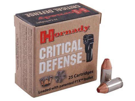 Hornady Critical Defense 380 Acp 90 Gr Ammo Test