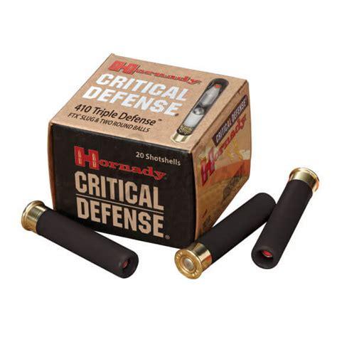 Hornady Critical Defense 410 Gel Test