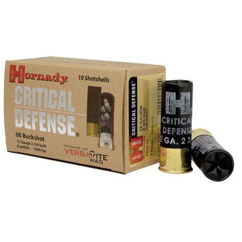 Hornady Critical Defense Buckshot Cabelasas