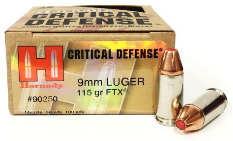 Hornady Critical Defense Ftx 9mm Gel Test