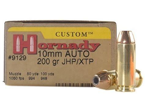 Hornady Custom 10mm 200 Gr Xtp
