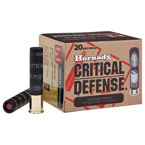 Hornady Defense Shotgun Ammo