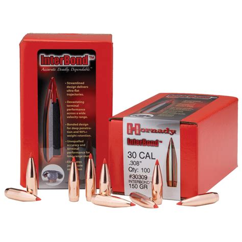 Hornady Interbond Bullets - Natchez
