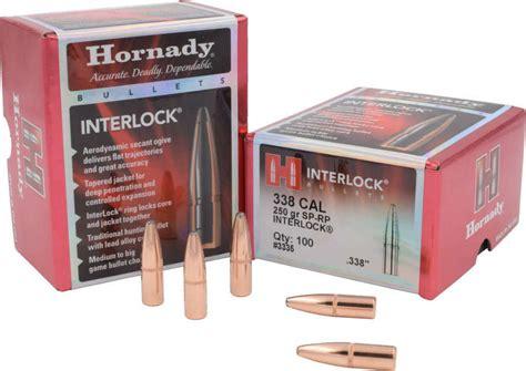 Hornady Interlock 338 Caliber (0 338