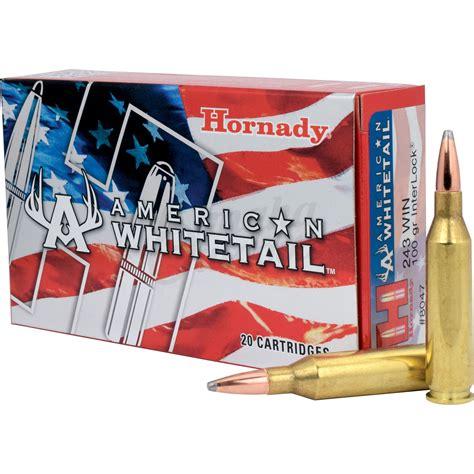 Hornady Interlock Ammo For Deer