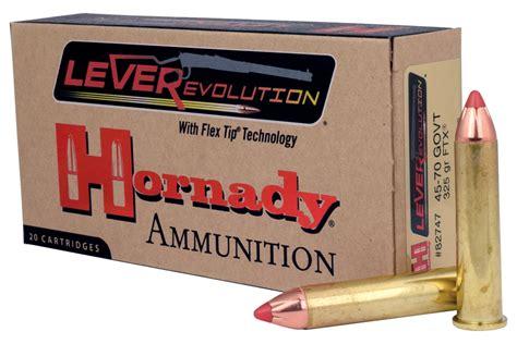 Hornady Leverevolution 45 70 Ballistics