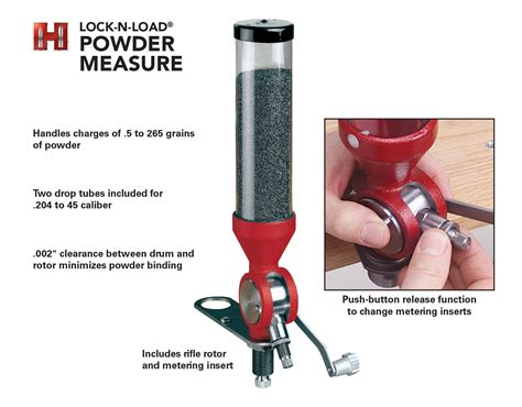 Hornady Lnl Case Activated Powder Measure