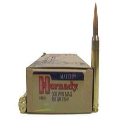 Hornady Match 195 Gr Bthp Bullet Length