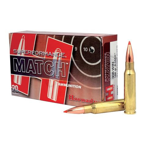 Hornady Match 308 Ammo