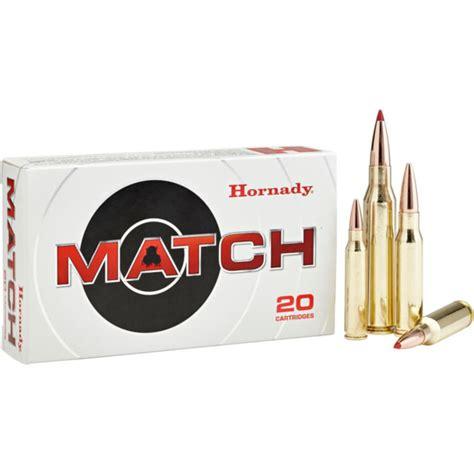 Hornady Match Ammo 260 Remington 130gr Eld Match 260 Remington 130gr Eld Match 20box