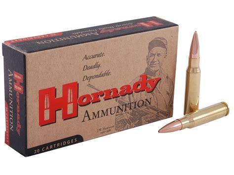 Hornady Match Ammo 308 Winchester 168 Grain Hollow Point