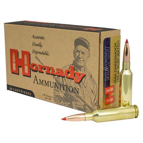 Hornady Match Ammo 6mm Creedmoor 108gr Eld Match 6mm Creedmoor 108gr Eld Match 20box