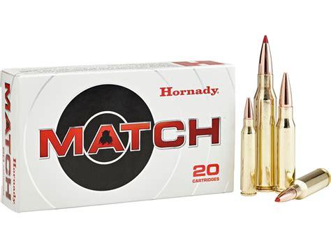 Hornady Match Grade 223 Ammo