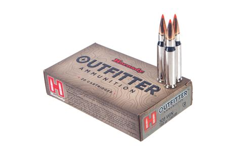 Hornady Outfitter 308 Winchester Ammo 308 Winchester 165gr Gmx Leadfree 20box