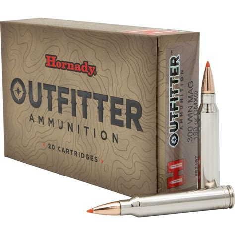 Hornady Outfitter Ammo Review
