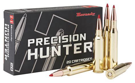 Hornady Precision Hunter Eld-x 150 Gr Sst Drop In Inches