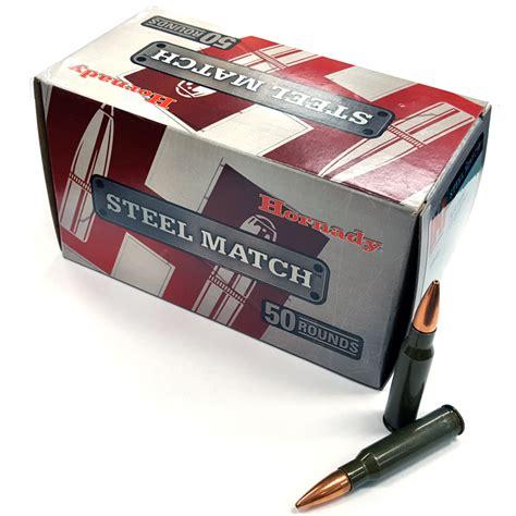 Hornady Steel Match 308 Ballistics
